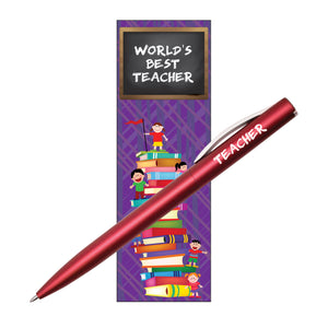 Teacher Pen Bookmark