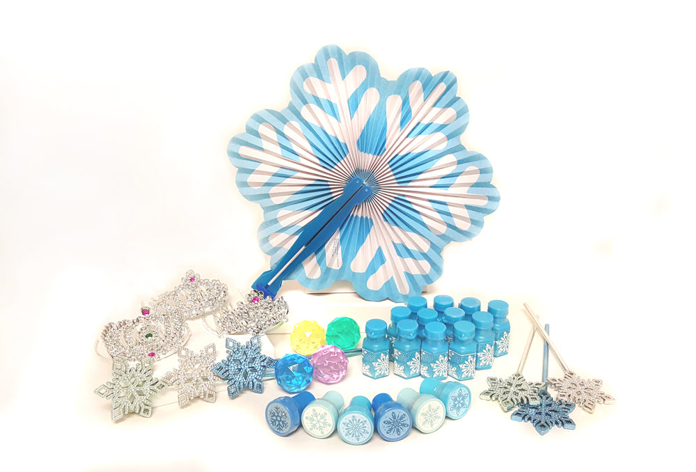 Frozen Snowflake Princess Party Pack - 72 PC