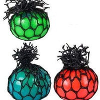 Mini Squeeze Mesh Stress Balls - Pack of 12