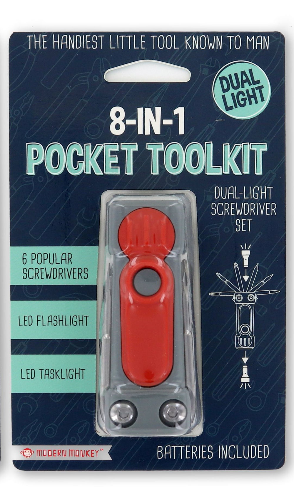8 in 1 Pocket Tool