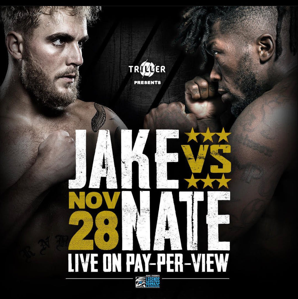 Social icon Jake Paul to fight former NBA star Nate Robinson on Legends Only League's Tyson v. Jones Jr. Undercard in Partnership with Triller