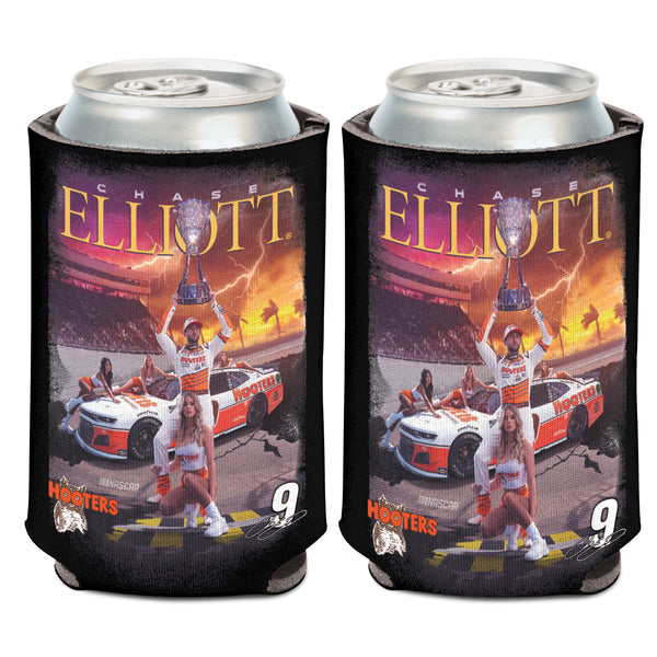 Chase Elliott Trophy Photo Can Cooler