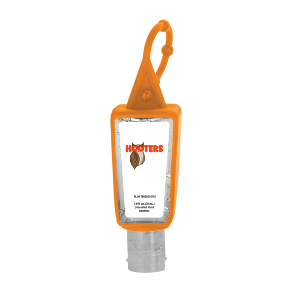 Hooters 1oz Silicone Hand Sanitizer