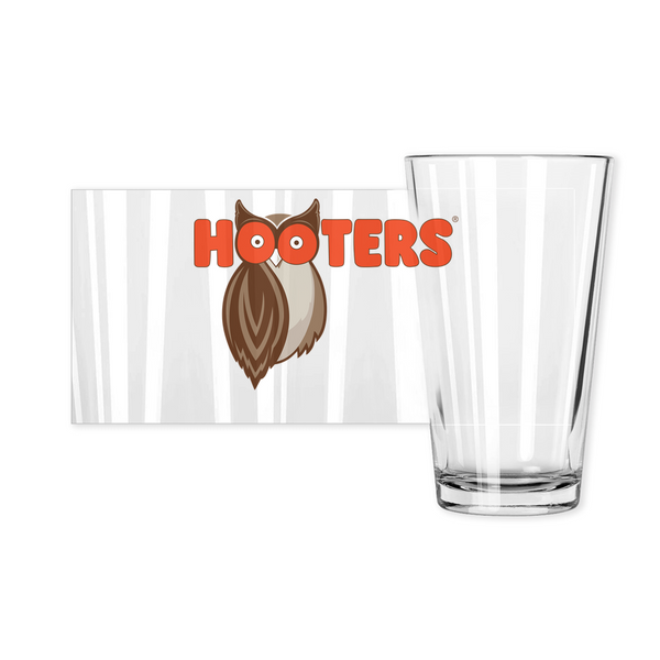 Hooters New Logo Pint Glasses