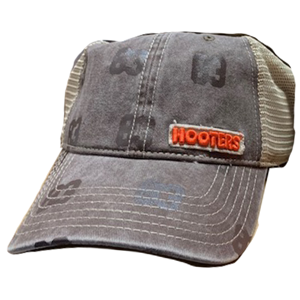 Hooters Distressed Applique Hat