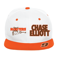 Chase Elliott Throwback Hooters Racing Flatbill Cap