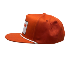 5 Panel Orange Rope Hooters Trucker