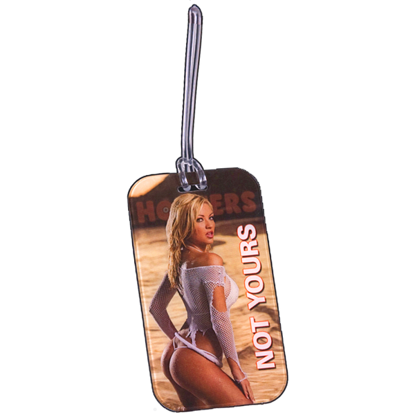 Hooters Luggage Tag