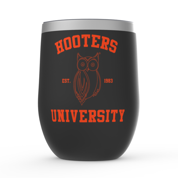 Hooters University Stemless Wine Tumblers
