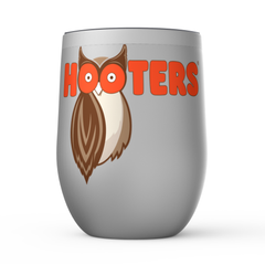 Hooters New Logo Stemless Wine Tumblers