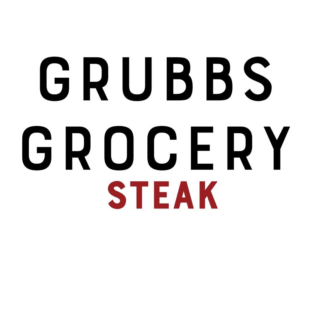 GRUBBS GROCERY MEALS STEAK