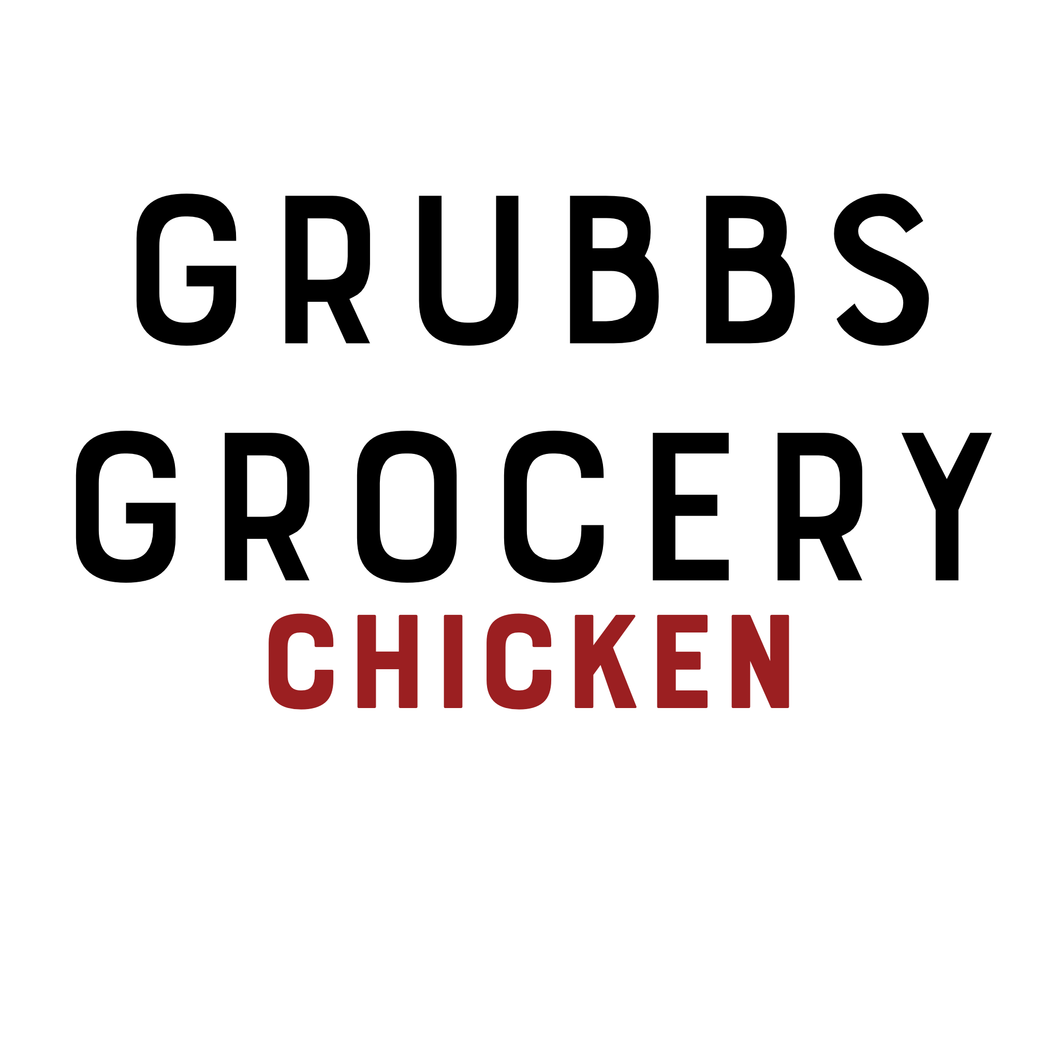 GRUBBS GROCERY MEALS CHICKEN