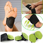 Extra Thick Cushioned Compression Arch Foot Support For Men & Women - 1 Pair