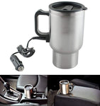 Charging Electric Kettle Mug (Silver)