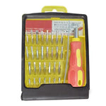 Screwdriver Set 32 in 1 Magnetic Tool Kit With 30 Bits