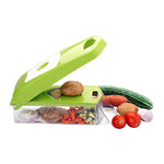 12-in-1 Jumbo Manual Vegetable Grater, Chipser and Slicer