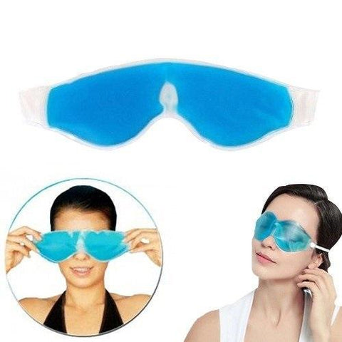 Plastic Cooling Gel Eye Mask