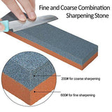 Silicone Carbide Combination Stone Knife Sharpener for Both Knives and Tools