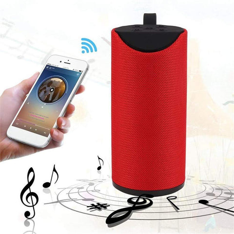 Wireless/Bluetooth Portable Mobile Speaker (Multicolour)