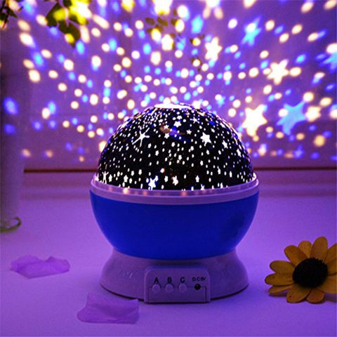Colour Changing Good Night Star Master Rotating Projection Night Lamp