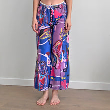 Load image into Gallery viewer, Blue Girl Digital Painting Lounge Pants