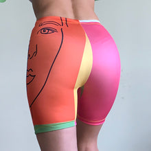 Load image into Gallery viewer, ArtPop Printed Cycling Shorts MADE TO ORDER