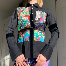 Load image into Gallery viewer, 1of1 JILL CARLOCK X KATELYN FAY Art Printed Button Down