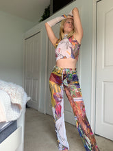 Load image into Gallery viewer, Digital Success Art Print Mesh Pants