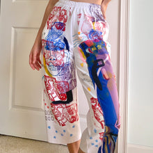Load image into Gallery viewer, 1/1 Handpainted Artist's Capris Pants