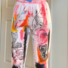 Load image into Gallery viewer, 1/1 HandPainted Custom Artist's Sweat Pants