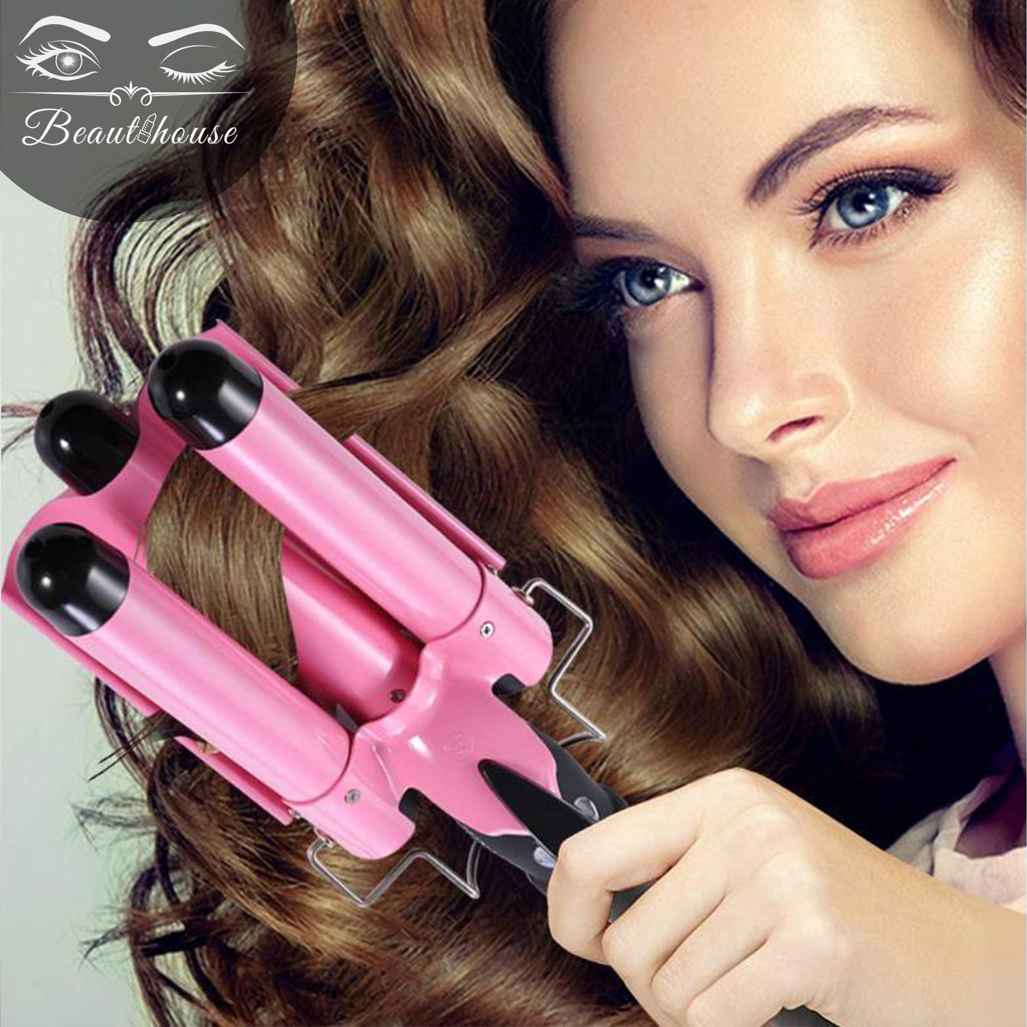 Triple Barrel Curling Iron™| Professionele Haarkruller | 50% korting