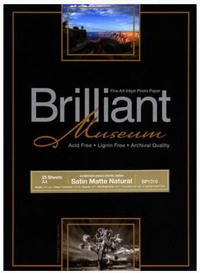 Brilliant Museum Satin Matte Natural A3+ x 25 Blatt 300g/m²