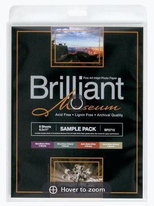 Brilliant Museum Test Pack A4 8 Blatt 300g/m²