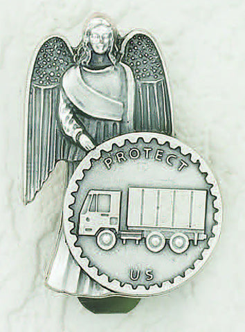 Truck w/ Angel - Beautiful Catholic Gifts