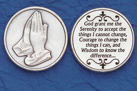 Praying Hands | Serenity Prayer