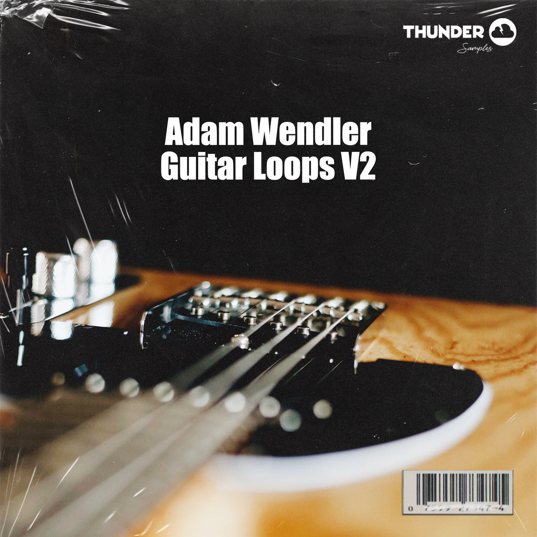 Adam Wendler Guitar Loops V2 (Trap Guitar Loops)