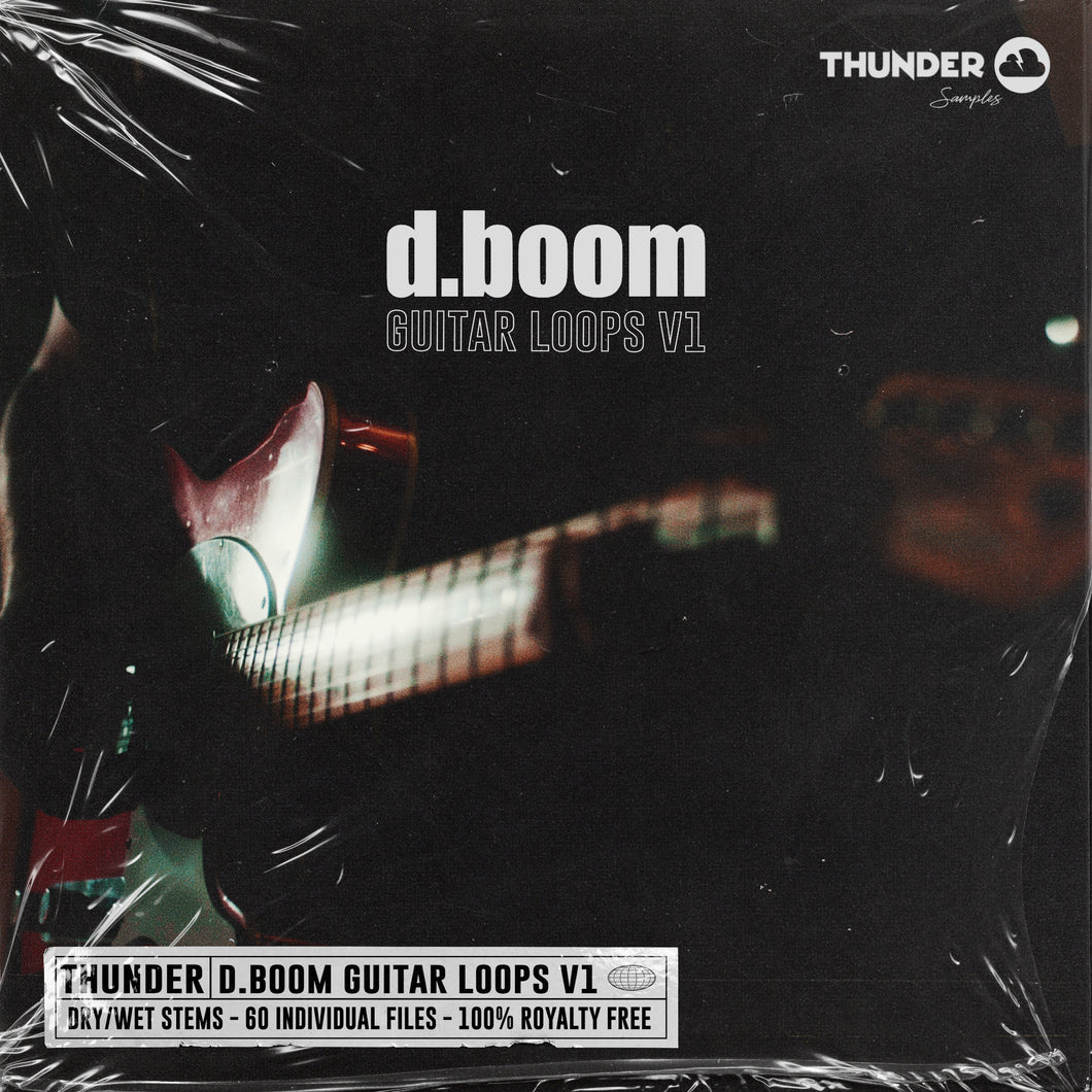d.boom Guitar Loops V1 (Hip Hop Guitar Loops)