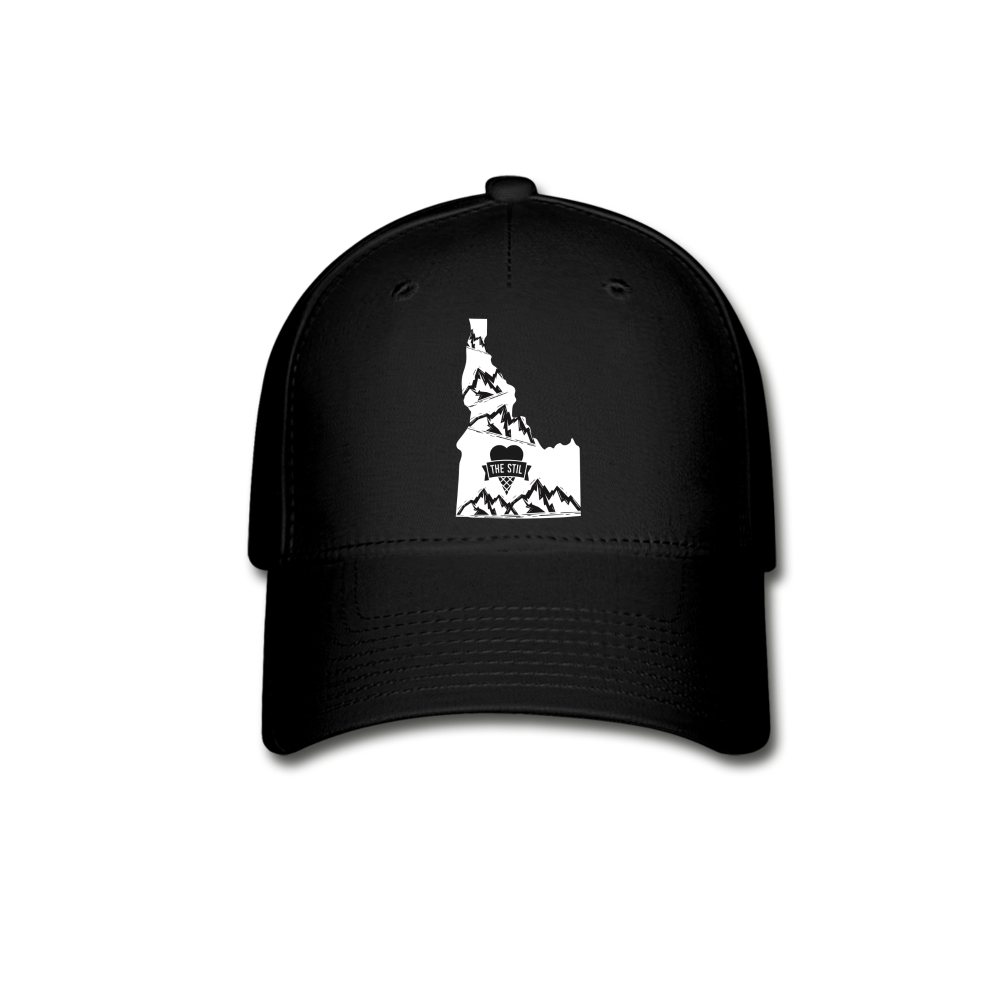 Idaho Logo Hat (Fitted) - black