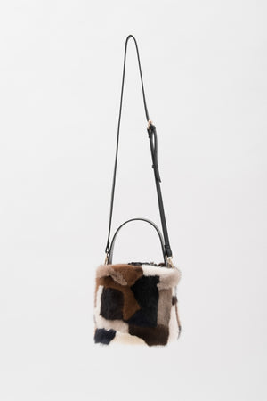 Mink & Fake Leather Bag|マルチ - VOLATA Online Shop