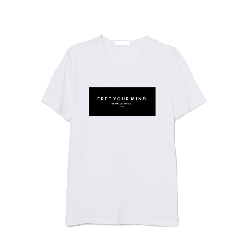 FREE YOUR MIND TEE WHITE