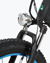 Load image into Gallery viewer, Ecotric Hammer Electric Fat Tire Beach Snow Bike-Blue