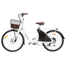 Load image into Gallery viewer, Ecotric Lark Electric City Bike For Women