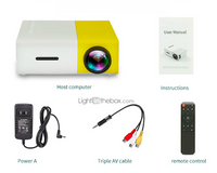YG300 Portable Mini Projector
