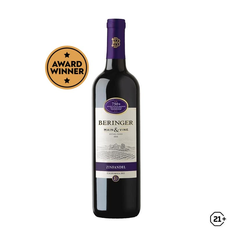 Beringer - Main & Vine - Red Zinfandel - 750ml