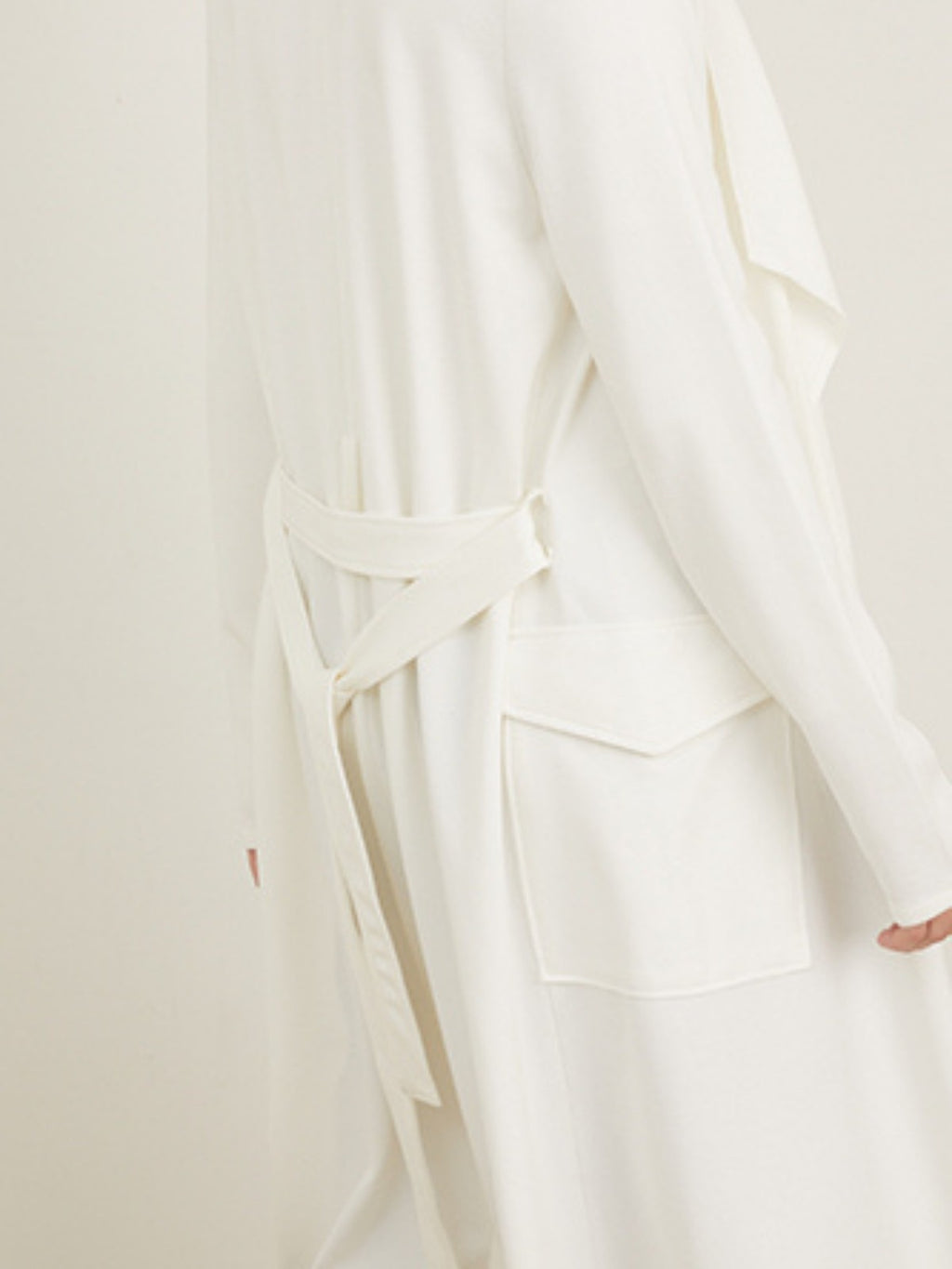 Chalice Ponte Waterfall Jacket | Milk