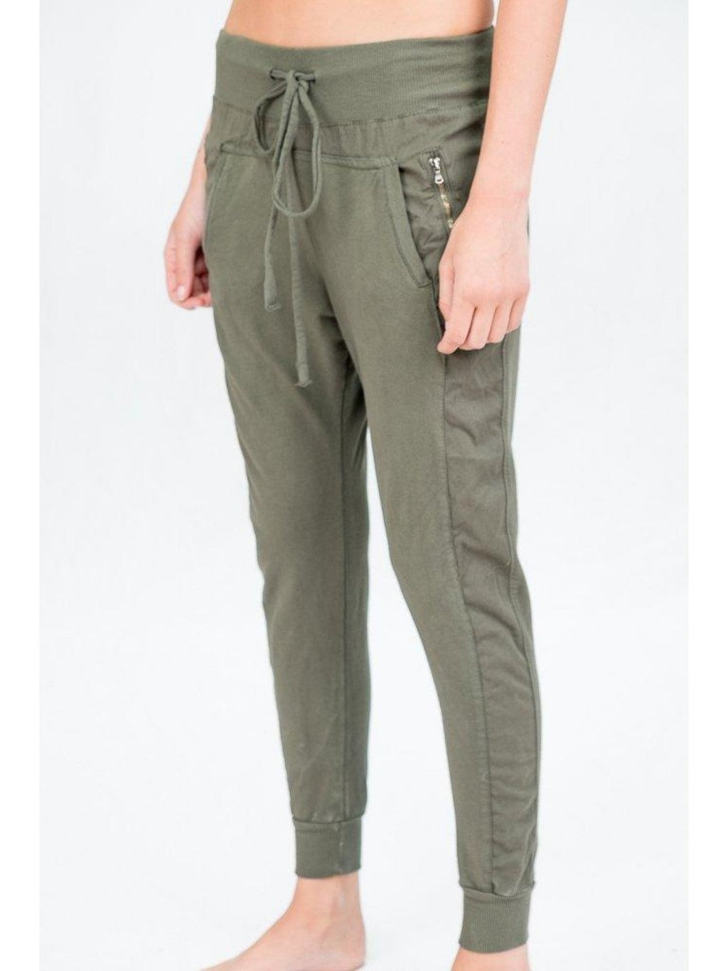 Suzy D Ultimate Jogger | Olive