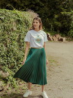 Bande Studio Fragrant Tiger Tee | Emerald Green