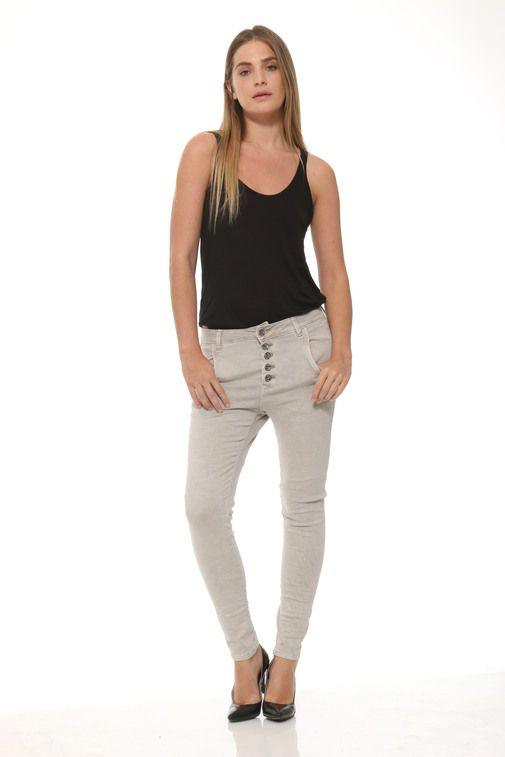 Bevy Carmen high waste multi seam jeans Toy