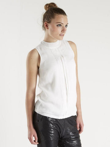 Monari Lurex Sleevless Top