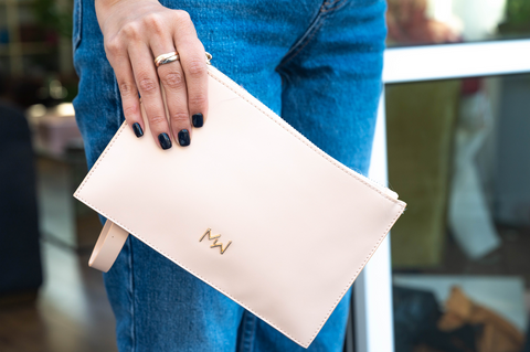 Pink Weed Accessories Clutch bag from MISSWEED